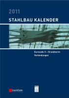 Stahlbau-Kalender 2011