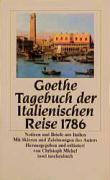 Tagebuch der Italienischen Reise 1786