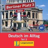 Berliner Platz 3 Audio-CD zum Lehrbuch 2