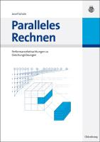 Paralleles Rechnen: Performancebetrachtungen zu Gleichungslösern