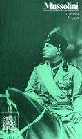Benito Mussolini in Selbstzeugnissen und Bilddokumenten (Rowohlts Monographien 270)