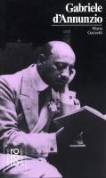 Gabriele DAnnunzio.
