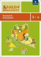 Zahlenwerkstatt: Geometrie: Arbeitsheft 3 / 4 (Zahlenwerkstatt: Materialsammlung Geometrie)