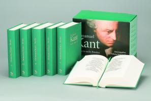 Immanuel Kant Werke in sechs Bänden (Band I - VI )
