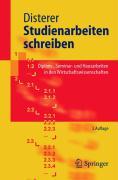 Studienarbeiten schreiben - Disterer, Georg