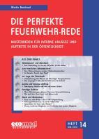 Die perfekte Feuerwehr-Rede Heft 14