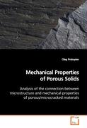 Mechanical Properties of Porous Solids - Prokopiev, Oleg