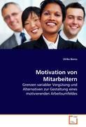 Motivation von Mitarbeitern: Grenzen variabler Vergütung und Alternativen zur Gestaltung eines motivierenden Arbeitsumfeldes