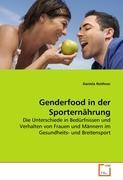 Genderfood in der Sporternährung: Die Unterschiede in Bedürfnissen und Verhalten von Frauen und Männern im Gesundheits- und Breitensport