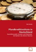 Pfandkreditinstitute in Deutschland: Geschäftsmodell, Kunden und Potenziale  der Banken des kleinen Mannes