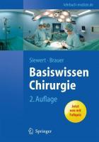 Basiswissen Chirurgie (Springer-Lehrbuch)