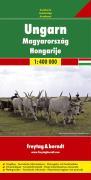 Ungarn, Autokarte 1:400.000
