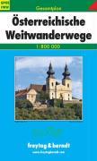 Österreichische Weitwanderwege Gesamtplan 1 : 800 000