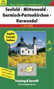 Freytag Berndt Wanderkarten, WK 5322, Seefeld - Mittenwald - Leutasch - Karwendel Maßstab 1:50 000