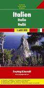 Italien, Autokarte 1:600.000: Touristische Informationen. Ortsregister mit Postleitzahlen jetzt digital (freytag & berndt Auto + Freizeitkarten)