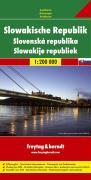 Slowakische Republik, Autokarte 1:200.000