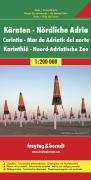 Kärnten - Nördliche Adria, Autokarte 1:200.000