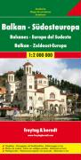 Balkan - Südosteuropa, Autokarte 1:2.Mio.
