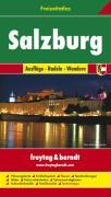 Salzburg Freizeitatlas F&B: Toeristische atlas 1:50 000 / 1:200 000