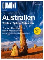 DuMont Bildatlas Australien, Westen, Süden, Tasmanien