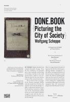 Done.Book: Picturing the City of Society: An Inquiry into the Depth of Visual Archives the Venetian Notebooks of John Ruskin Versus the Picture Library of Alvio Gavagnin