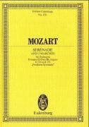 """Serenade Nr. 9 D-Dur und 2 Märsche: """"Posthorn-Serenade"""". KV 320/KV 335. Orchester. Studienpartitur. (Eulenburg Studienpartituren)"""