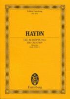 Die Schöpfung: Hob. XXI: 2. 5 Soli (SSTBB), Chor und Orchester. Studienpartitur. (Eulenburg Studienpartituren)