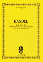 The Music for the Royal Fireworks: HWV 351. Orchester. Studienpartitur. (Eulenburg Studienpartituren)