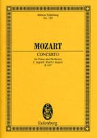 Konzert Nr. 21 C-Dur: KV 467. Klavier und Orchester. Studienpartitur. (Eulenburg Studienpartituren)