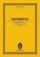 Sinfonie Nr. 7 A-Dur: op. 92. Orchester. Studienpartitur. (Eulenburg Studienpartituren)