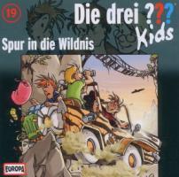 Die drei ???-Kids - Spur in die Wildnis, 1 Audio-CD