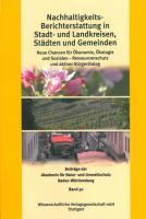 Nachhaltigkeits-Berichterstattung in Stadt- und Landkreisen, Städten und Gemeinden