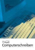 Computerschreiben mit Word 97, 2000 und 2002. Teil 1. (Kopfspirale und Aufsteller)