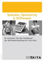Spenden, Sponsoring & Stiftungen
