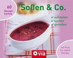 Soßen & Co: Ringbuch mit Kochkarten
