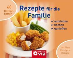 Rezepte für die Familie: Ringbuch mit Kochkarten