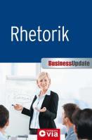 Business Update - Rhetorik: Business Update