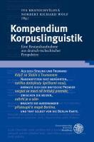 Kompendium Korpuslinguistik