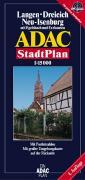 ADAC Stadtplan Langen / Dreieich / Neu-Isenburg 1 : 15 000.