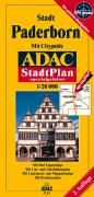 ADAC Stadtplan Paderborn 1 : 20 000. Spezialgefaltet.
