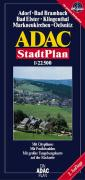 ADAC Stadtplan Adorf, Bad Elster, Klingenthal 1 : 20 000.