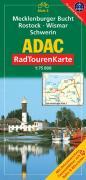 ADAC RadTourenKarte 03. Mecklenburger Bucht, Rostock, Wismar, Schwerin. 1 : 75 000: Mit Ortsverzeichnis. Freizeitführer mit Bahn & Bike-Infos