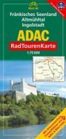 ADAC Radtourenkarte Fränkisches Seenland, Altmühltal, Ingolstadt: 1:75000