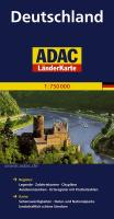 ADAC Länderkarte Deutschland 1:750.000 (ADAC LänderKarten)