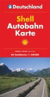 Shell Länderkarte Autobahnkarte Deutschland 1:500.000