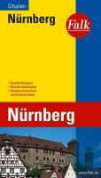Falk Cityplan Nürnberg 1 : 20 000: Durchfahrtsplan, Verkehrslinienplan, Straßenverzeichnis mit Postleitzahlen