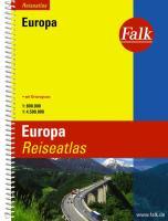 Falk Reiseatlas Europa 1:800 000: Mit Ortsregister