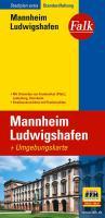 Falk Stadtplan Extra Mannheim, Ludwigshafen 1: 20 000