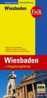 Falk Stadtplan Extra Standardfaltung Wiesbaden: Mit Ortsteilen von Eltville, Hochheim a. M., Mainz. Straßenverzeichnis mit Postleitzahlen. Standardfaltung