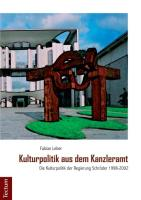 Kulturpolitik aus dem Kanzleramt
